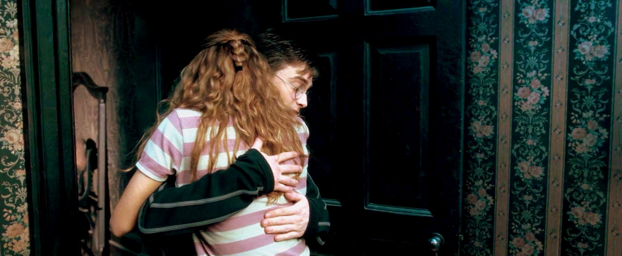 Hermione Hugging Harry Hug-3-harry-and-hermione
